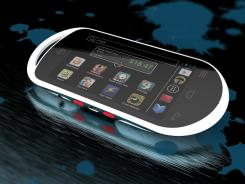 The PlayMG is an Android-based handheld gaming device with a 4-inch touchscreen display, due this holiday season.