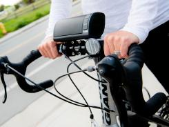 The NYNE NB-200 lets bikers listen to music and recieve calls during their rides.