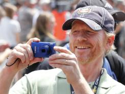 Director Ron Howard likes to post his iPhone and point-and-shoot photos online.