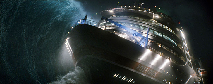 Poseidon: Cruise-line passengers should have better things to do than worry about a rogue wave.