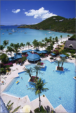 "Get in the mood: The Westin St. John in the U.S. Virgin Islands launched a travel trend with its ""procreation vacation"" packages."