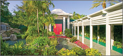 Elizabeth Arden's Red Door Spas offer luxury health and fitness programs at 30 locations in the USA and Europe.