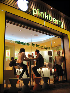 "In Los Angeles: At a tasty 25 calories an ounce, it?s no wonder Pinkberry has ""launched 1,000 parking tickets."" A 13-ounce green-tea frozen yogurt with three toppings will set you back $9.45, so don?t double-park."