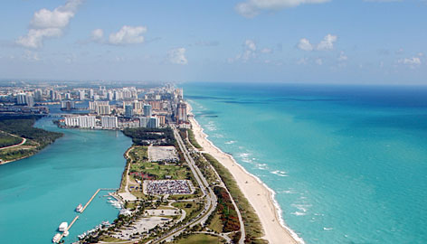 In Miami: Clothing-optional Haulover Beach, between the Intracoastal Waterway and the Atlantic Ocean, boasts 1.25 miles of white sand and dunes.