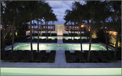 Setai Resort: Jay-Z, Beyonce, Bono and Leonardo DeCaprio are all fans of this chic South Beach hotel.