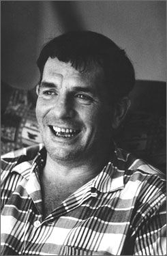 On the scroll: Kerouac wrote the stream-of-consciousness novel on a scroll in three weeks.