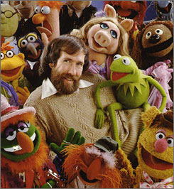 Jim Henson and the Muppets.