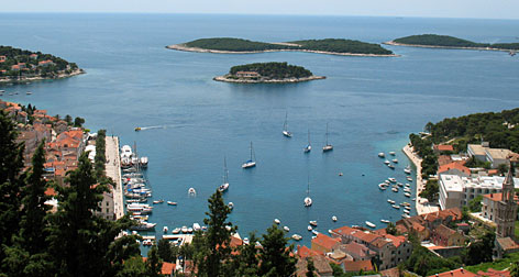 Boat and ferry trips depart daily from Hvar to half a dozen islands including Vis, a hotspot for food and celebrities, and Bisevo and the Blue Grotto, a popular snorkeling and diving spot.