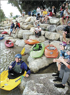 In Colorado: Outdoorsy types can enjoy whitewater rafting, kayaking, horseback riding and more in Salida, which also hosts the annual FIBArk Whitewater Festival on the Arkansas River over four days in mid June.