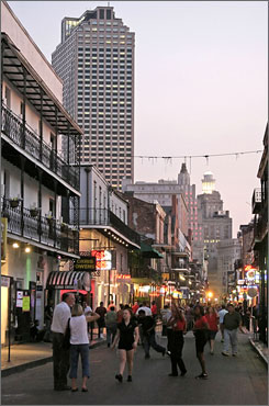 Looking good: New investment in hotels and restaurants in the French Quarter and other historic areas has helped bring back the tourism lost to Hurricane Katrina.