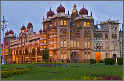 Before the southern city of Bangalore was named state capital in 1831, Mysore held the honor as Karnataka's administrative center. The result is a city of splendid official buildings.