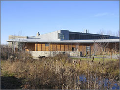 Cornell University's ornithology lab in Ithaca, N.Y., is set amid the ponds and cattail marshes of a bird sanctuary. The research center is located in the Finger Lakes region of west-central New York.