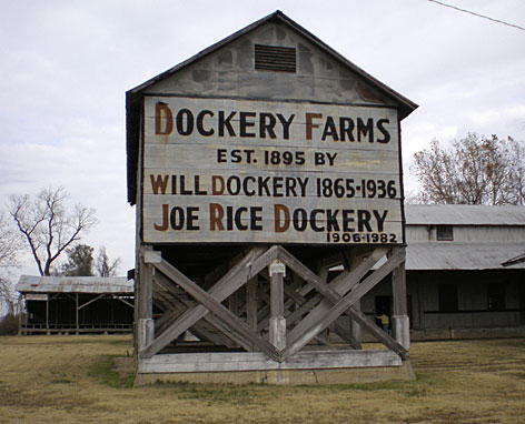 Dockery Farms, outside of Cleveland, Miss., was once home to blues legends Charley Patton and Howlin Wolf.