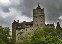 At Bran Castle in Brasov, Romania, it's said that Dracula author Bram Stoker based the novel's seductive vampire on 15th-century Prince Vlad the Impaler, who ruled from there and whose violent execution methods inspired the author's stories.