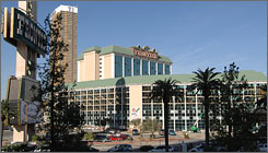 The Frontier was the second hotel/casino to open on the Las Vegas Strip, and over its 65 years played host to such entertainers as Ronald Reagan, Wayne Newton and Siegfried & Roy. Developers plan to build a new $5B resort on the site.