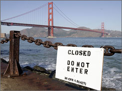 Some waterfront areas remain closed following San Francisco's biggest oil spill in nearly two decades.