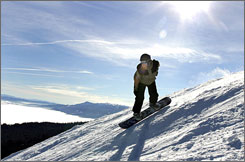 "Schweitzer Mountain in Sandpoint, Idaho, is one of the 10 ""overlooked"" ski destinations recommended by the travel website TripAdvisor.com."