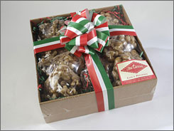 That's so sweet! Pecan pralines from Mi Tierra Restaurant and Bakery in San Antonio.