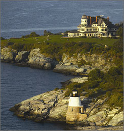 The Castle Hill Inn & Resort in Newport, R.I., has just joined the Relais & Chateaux group. There are 44 R&C hotels and restaurants in the USA.