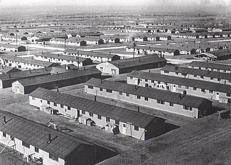 Camp Amache in southest Colorado is shown between 1942 and 1945 where 7,000 Japanese-Americans spent three years in the internment camp during World War II.