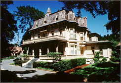 The Madrona Manor in Healdsburg, Cailf., is listed as the top hotel for the Napa-Sonoma area, according to Travel + Leisure magazine.
