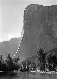 Works by photographer Ansel Adams such as this one will go on display at Carlsbad Caverns this summer.