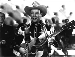 Screen and real life cowboy Roy Rogers  is one of many featured in the new Silver Screen Cowboy Museum set to open in Kansas on Feb. 14.