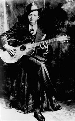 Legendary blues singer Robert Johnson's birthplace has a new blues trail marker.