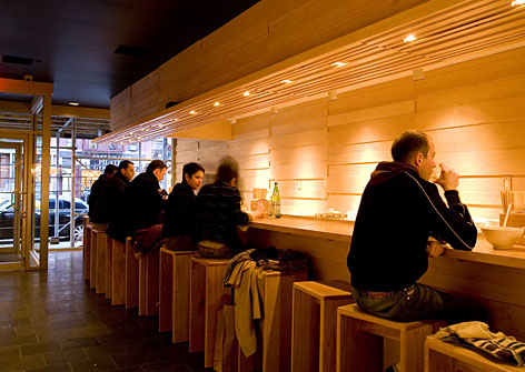Top-rated dining at affordable prices: The Momofuku Noodle Bar in New York City is presided over by chef David Chang, who won a James Beard award for rising star chefs. Entrees average between $10 and $25.