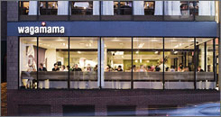 In Cambridge, Mass.: Wagamama opened a branch of its chain in Harvard Square last year. More restaurants are planned for other U.S. cities.