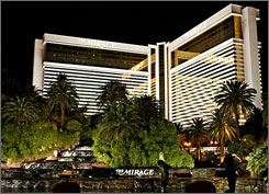 Harder times? MGM Mirage, the company that runs The Mirage resort and nine others in Las Vegas, has laid off 150 workers.