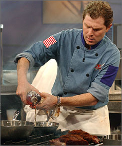 New York chef Bobby Flay says if Atlantic City wants to elevate its dining choices, it must continue bringing better restaurants as Las Vegas did He has opened restaurants in New York, Las Vegas and since last year, Atlantic City.