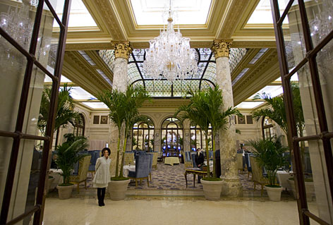 The palm trees and harpist are back, and after a $400 million, three-year renovation to restore the hotel's grandeur, tea at The Plaza is now all about the food.