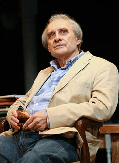 "Michael McGuire plays the role of the father in Tracy Letts' ""August: Osage County,"" currently running at Broadway's Imperial Theatre in New York."