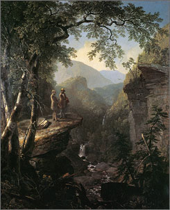 "Asher Brown Durand's ""Kindred Spirits"" will be one of the American masterpieces on display at the Crystal Bridges museum."