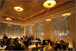 Top five: Jean Georges in New York is one of continent's best, according to Opinionated About Dining.