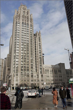 The Tribune Tower is one of the architectural highlights of a Chicago river cruise. Tickets are $28 a person weekdays and $30 weekends and holidays.