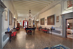 Ca' Cerchieri Piano Nobile: Overlooking the Grand Canal in the Dorsoduro sestiere, this outsized seven-bedroom Venetian stalwart sprawls across 5,920 square feet with three double bedrooms, each with en-suite bathrooms; three living areas; a dining room and a fully fitted kitchen. That's to say nothing of the other four smaller bedrooms with two bathrooms and a laundry room. From $22,000 to $31,000 per week.