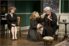 Horton Foote's domestic comedy Dividing the Estate will open Nov. 20, 2008, at a Broadway theater to be announced.