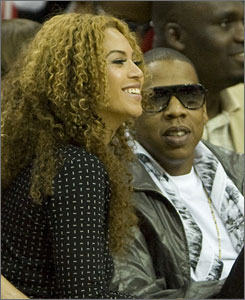 Famous Houston natives such as Beyonce Knowles (seen here at a Rockets game with Jay-Z) give you travel advice at VisitHoustonTexas.com.