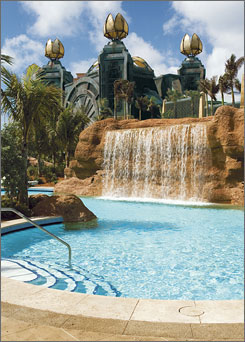 Atlantis in the Bahamas is one of the top beach resorts for families according to Parents magazine.