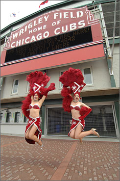 Cheer leaders: To boost tourism, the Las Vegas Convention and Visitors Authority dispatched showgirls last week to meet and greet potential tourists in Chicago and other major cities.