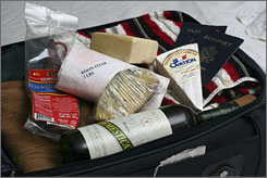 What should and shouldn't go into your suitcase for the trip back to the States is not always an easy decision to make. Visiting a few U.S. government websites is your best chance of not having to give up a coveted food item at customs upon returning.
