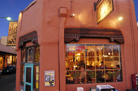 Santa Fe's Caf Pasquals is one of several restaurants across the USA that serve up a memorable salad.