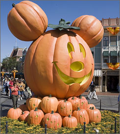 Mickey's Not-So-Scary Halloween Party is a G-rated special event aimed at youngsters and families.