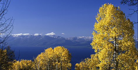 The really big outdoors: The Lake Tahoe region encompasses the USA's second-deepest lake, with communities, ski resorts and protected wilderness ringing 72 miles of shoreline.