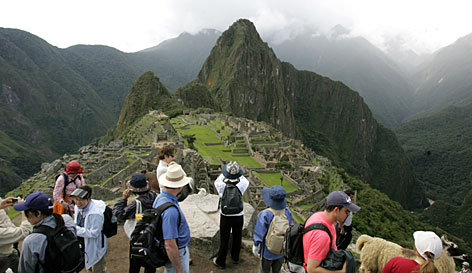 At Machu Picchu: The Lost City of the Incas was rediscovered in 1911 by a real-life archaeology professor who stumbled upon it while searching for something else.