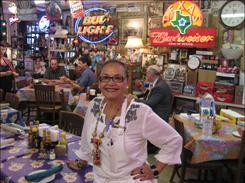 An honor for Irma: Irma Galvan of Irma?s Restaurantin Houston, an America?s Classics honoree.