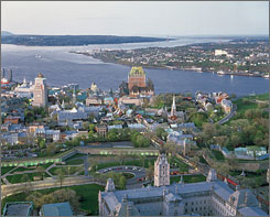 Quebec City celebrates its 400th anniversary this summer with a series of exhibits, festivals and performances.