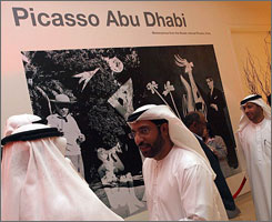 A Picasso retrospective in Abu Dhabi highlights Arab influences on the popular artist.
